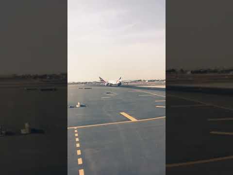 Emirates EK-618 Dubai - Sialkot