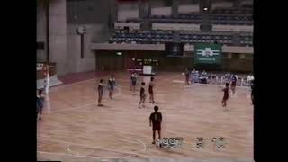 1997年東北学生ハンドボール(春季) 東北学院大(18) vs 仙台大(23)