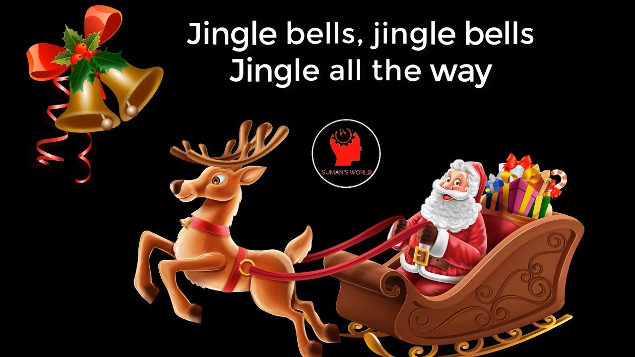 Jingle bells | Christmas song with Santa Claus|| jingle bells song for children with lyrics ...
