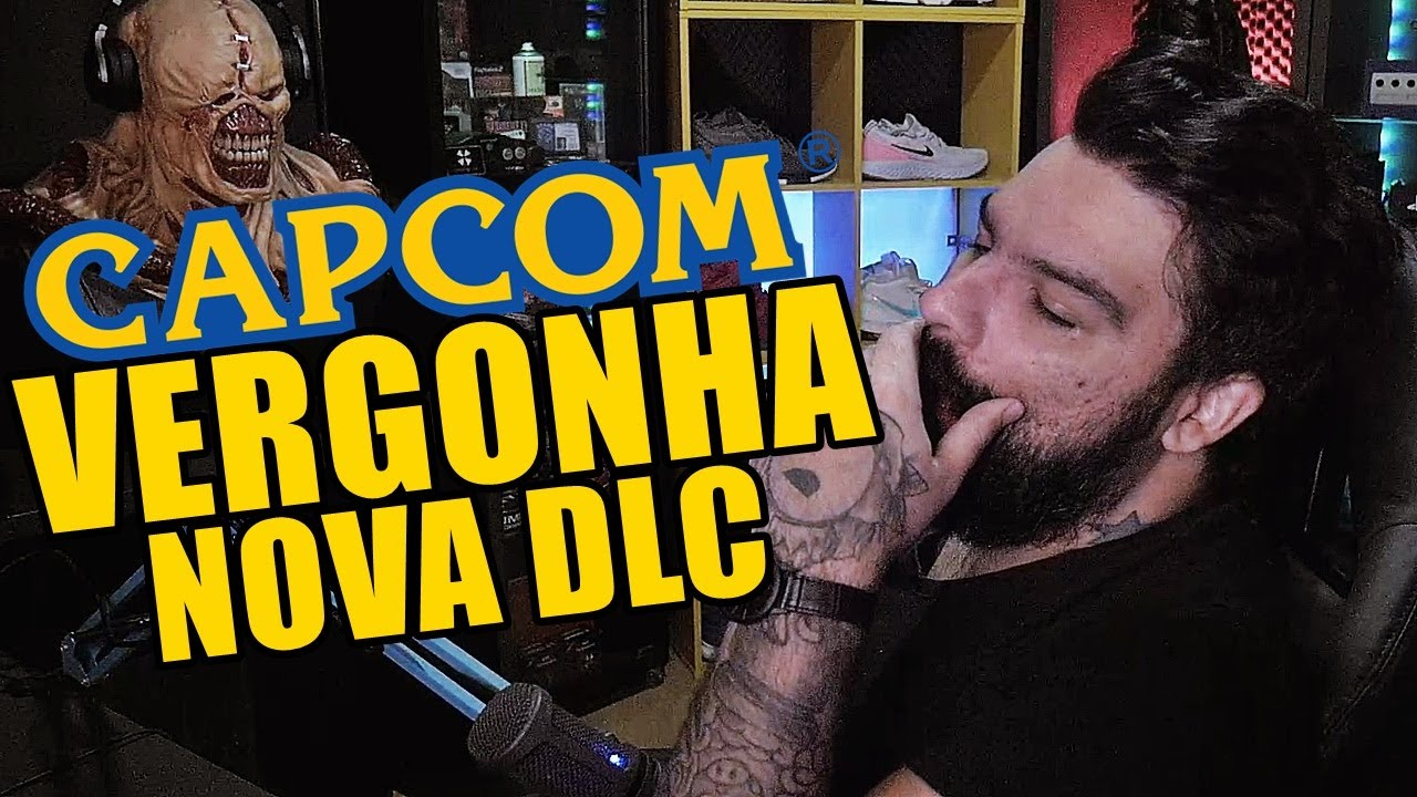 QUE NOJO DO C4R#LH0 (CAPCOM) VERGONHOSO!