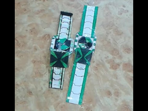 how to make paper (Ben 10 Omniverse omnitrix)