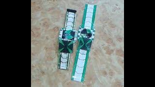 how to make paper (Ben 10 Omniverse omnitrix)