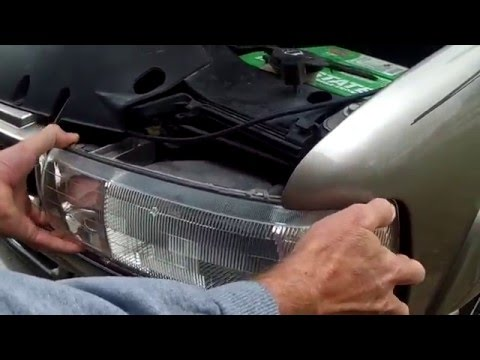 How to Replace The Daytime Running Lights on a 2003 Chevy Tahoe!