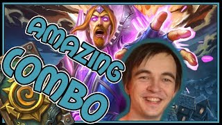 Witching Hour + Archmage Vargoth combo is SOOO GOOD | Rise of Shadows | Hearthstone