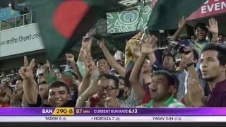 Bangladesh Scored 307 Runs against India and Won by 79 Runs Mustafiz got 5 Wickets