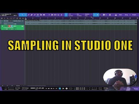 Sampling Made Simple | Presonus Studio One | Easy Tutorial