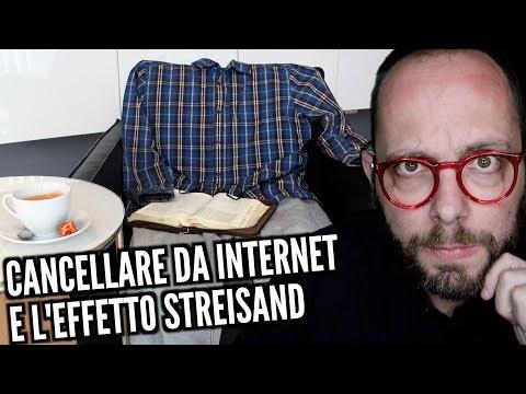 Rimuovere Contenuti Dalla Rete E Cosa Ci Insegna Barbra Streisand Youtube