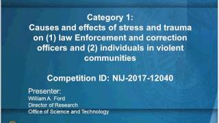 Solicitation Webinar: Safety, Health, and Wellness (FY 2017)