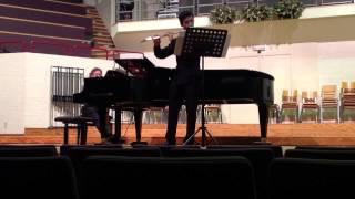 João Lourenço - Pièce pour flûte seule, J. Ibert