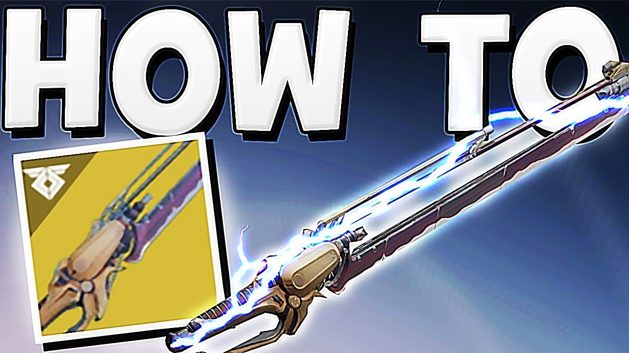 Destiny 2 - HOW TO GET WORLDLINE ZERO EXOTIC SWORD + 35 FRAGMENTS !!