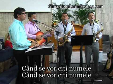 Cand trambita Domnului va anunta JUDECATA - Fratii Pit, Album Vino azi Betel Oradea