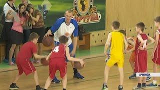 Спортивный мастер-класс для ачинских школьников (Новости 20.04.16)