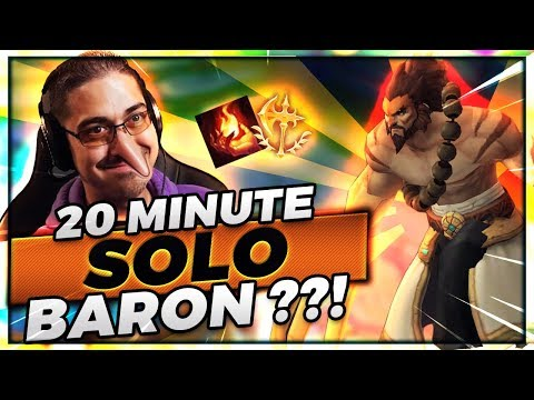 20 MINUTE SOLO BARON IS TOO EASY :) - Trick2G