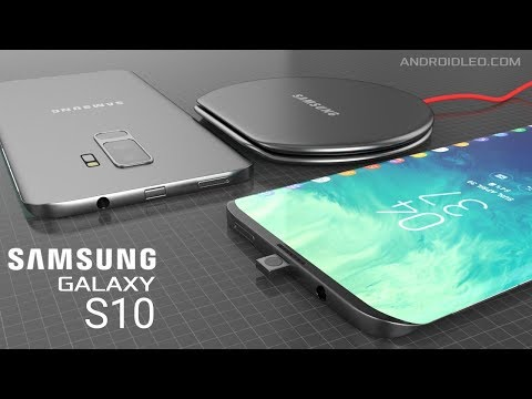 Samsung Galaxy S10 With In-Display Fingerprint Scanner, New Popup Camera (iPhone X Killer) Concept