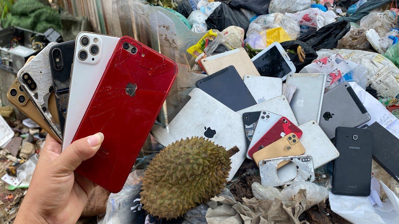 DIY - Restore iPhone 7 Plus Like iPhone 13 Series,Restore abandoned destroyed phone