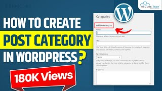 How to Create Post Category How to Add Category in Menu How to Display Post in Wordpress Part 5