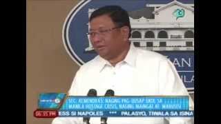 Sec. Almendras: Naging pag-uusap ukol sa Manila Hostage Crisis, naging maingat at mabusisi