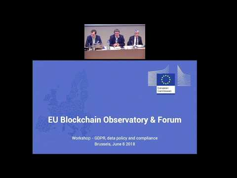 GDPR June 8th, 2018 Workshop   Part 1: Introduction And Presentations