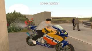 V. Rossi Honda Repsol in GTA:SA [HD]