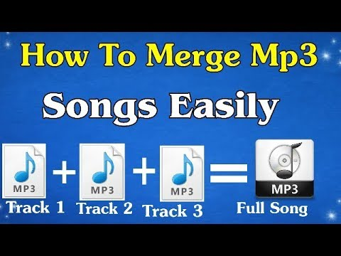 How To Mix Different Mp3 Songs | In To Single Mp3 Song | In HINDI