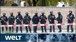 ANSCHLAG AUF SYNAGOGE: Rechter Terror fordert zwei Tote in Halle