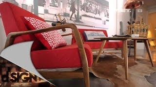 Dsign - Red vintage furniture retro New York