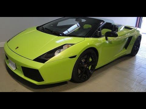 custom green lamborghini gallardo spyder youtube - Lamborghini Gallardo Spyder Green