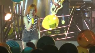 """Still Into You"" Paramore@Sands Bethlehem PA Event Center 11/11/13 Self Titled Tour"