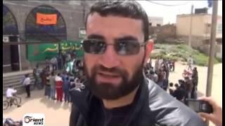 درعا - ابطع الأهالي يحتفلون بميلاد الثورة
