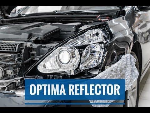 Диодные би-линзы Optima Reflector в Nissan Teana