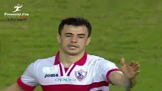 الونش يسجل أول هدف له مع الزمالك في الدوري