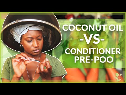 Coconut Oil -vs- Conditioner Pre-Poo, Which one is Better & WHY ?