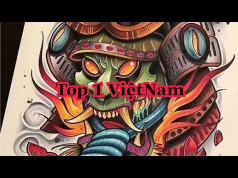 Top Những Hình Xăm Mặt Quỷ Hanya đẹp nhất Việt Nam | Phần 2 | Tất tần tật các kiến thức về hình xăm mặt quỷ đẹp nhất đúng nhất
