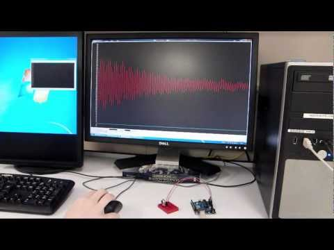 Serial Oscilloscope (with Arduino)