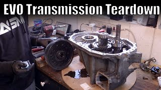 Evo Transmission Teardown // Inside a evo 8 trans // Boosted Films