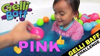 Seru! Mainan anak Fun Gelli Baff Pool bath color balls & Mandi bola @LifiaTubeHD