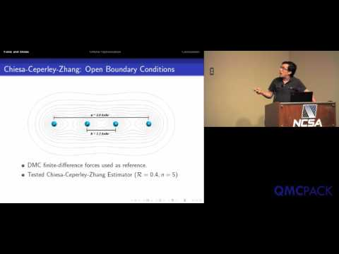 12 - Raymond Clay - Orbital optimization and forces in QMCPACK
