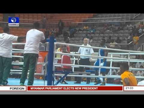 Sports Tonight: Nigeria's Boxing & Junior Tennis Players' Performances