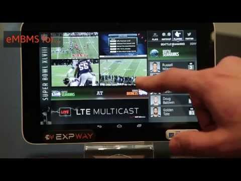 EXPWAY - The leader in LTE Broadcast middleware