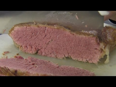 CURING CORNED BEEF