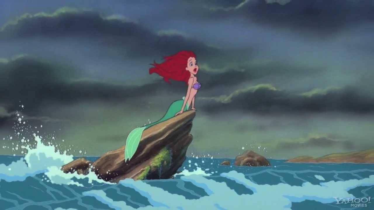 The Little Mermaid Blu Ray
