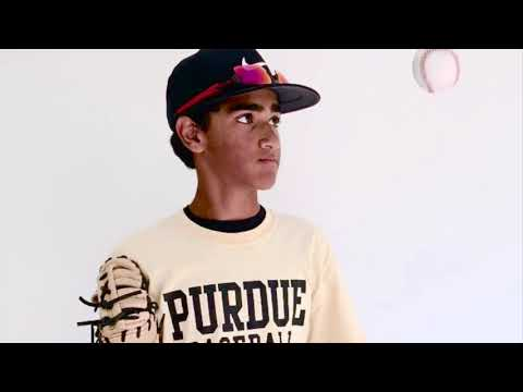 Arjun Lothe | Purdue University Prospect Baseball Camp 2019 (Freshman Year)