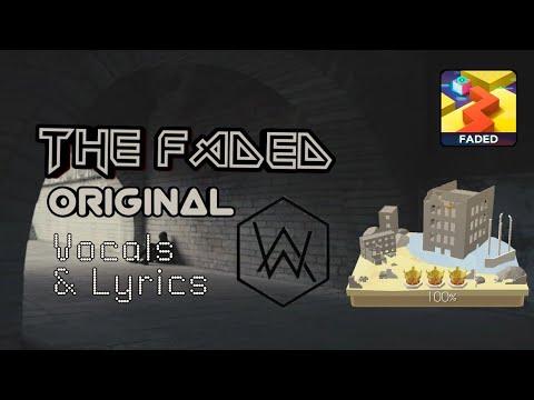 Dancing Line - The Faded Original - Full Song ( Vocals & Lyrics )