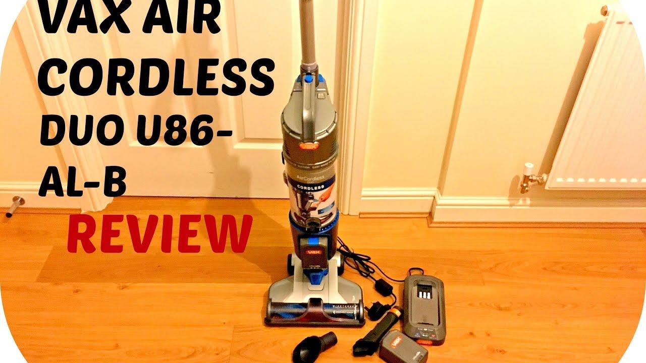 Vax Air Cordless Duo U86 Al B Upright Vacuum Cleaner