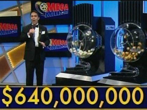$640 million Mega Millions jackpot numbers drawn