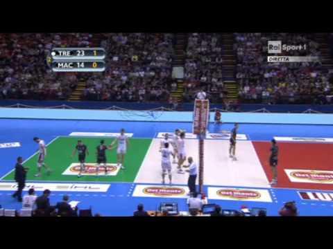 Itas Trentino - Lube Macerata - Finale Coppa Italia 2013 (full match)