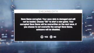 Save Game Corrupted! Multiplayer Stats Still Saved Battlefield 4 (BF4)