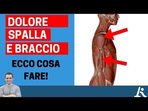 Ecco le possibili cause (e soluzioni) del dolore braccio-spalla