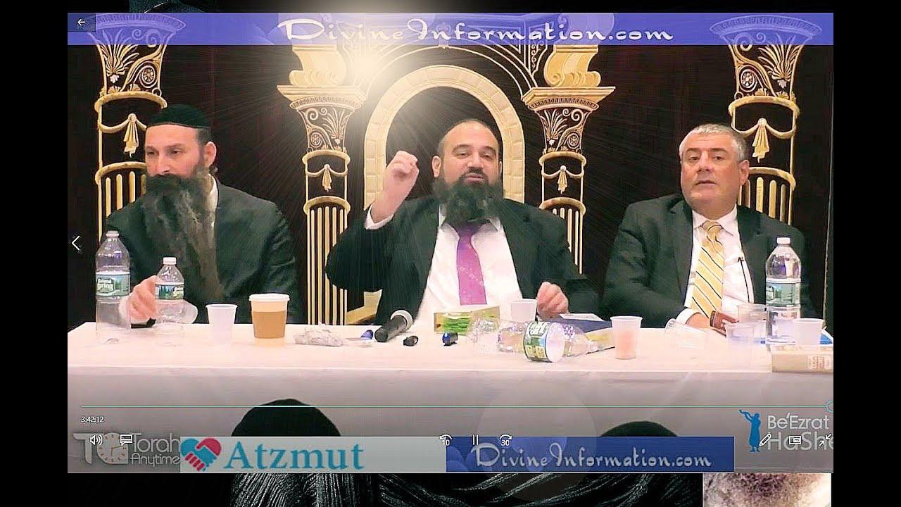 The Great Rabbis Together - Rabbi Mizrachi Rabbi Reuven And Rabbi Anava On One Stage