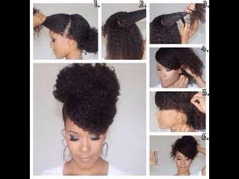 Best Elegant Natural Hairstyles for Black Women - YouTube
